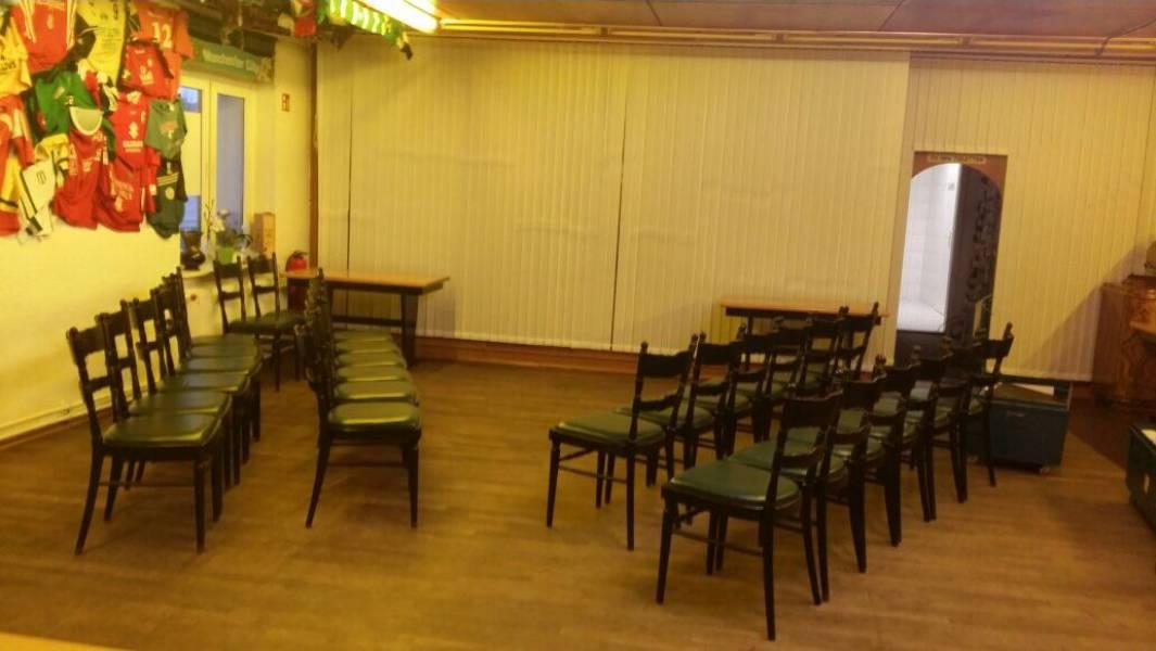 Veranstaltungsraum Vereinsgaststätte Rote Erde